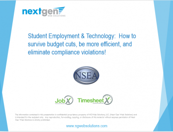 student-employment-software